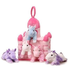 unipak castle horses pink includes white