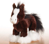 kinz clydesdale horse brand sealed webkinz