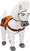 disney tangled maximus horse plush ribbon