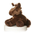 aurora plush chestnut brown mini flopsie