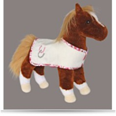Dido Chestnut Horse With Blanket 11