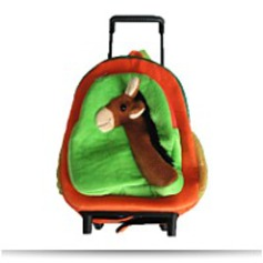 Kids Horse Rolling Roller Backpack