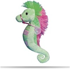 Lime And Pink Sea Horse 6
