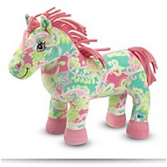 Melissa And Doug Ashley Horse Plush