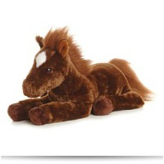 Plush Dallas Horse Flopsie