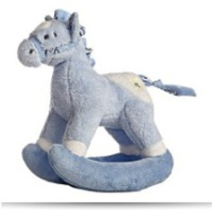 Rocking Buckaroo Blue Horse 12