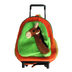 kids horse rolling roller backpack suitcase