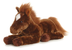 aurora plush dallas horse flopsie leading