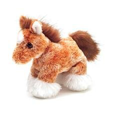 Aurora Plush Clyde Clydesdale Horse 8